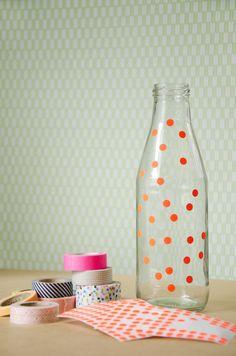 Studio Sjoesjoe: DIY Easter flower bottles