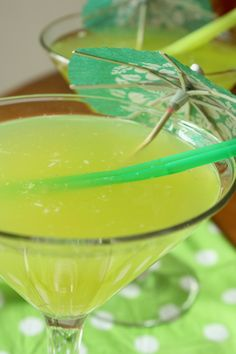 Emerald Isle (1oz Malibu Coconut Rum    1oz Midouri    .5oz Coconut Water (pulp is fine)    .5oz Pineapple Juice)