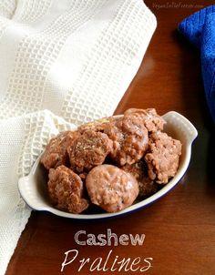 Cashew Pralines Recipe - Vegan in the Freezer