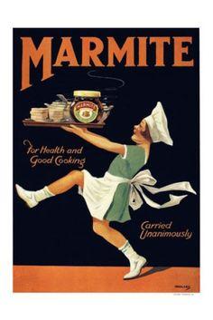 Marmite Vintage Advert 1920's Print - Vintage Advertising Posters - Retro Posters iPosters £7.99