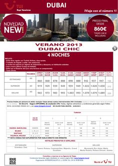 ¡Novedad! Verano 2013 DUBAI Chic. Precio final desde 860€ - http://zocotours.com/novedad-verano-2013-dubai-chic-precio-final-desde-860e-9/