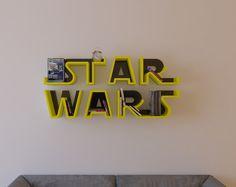 Star Wars, logo, shelf, interrior, design, bookshelf