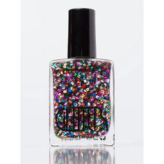 Glitter Nail Polish ($6) ❤ liked on Polyvore