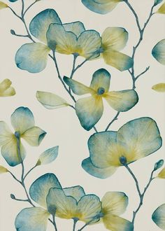 Harlequin Kienze Wallpaper | 2018 Wallpaper Collections | TM Interiors  Developed from pressed flowers, this detailed wallpaper design from Harlequin Momentum has beautiful translucent petals in a sophisticated signature colour palette. #wallpaper #floral #harlequin