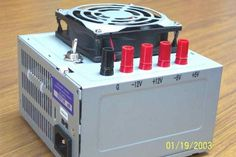 Converting a PC Power Supply