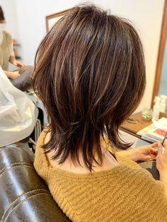 【2021年春】ウルフの髪型・ヘアアレンジ 人気順 ホットペッパービューティー ヘアスタイル・ヘアカタログ Classy Hairstyles, 2015 Hairstyles, Dress Hairstyles, Short Hair With Layers, Short Hair Cuts, Medium Hair Styles, Short Hair Styles, Medium Layered Haircuts, Aesthetic Hair