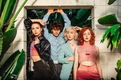 """The Regrettes"" & ihre unbeabsichtigte Quarantäne-Hymne Lagunitas Beer Circus, Soundtrack, Video Clips, Rocker Girl, Band Photography, Women In Music, Love Band, Crazy Outfits, Photographs Of People"