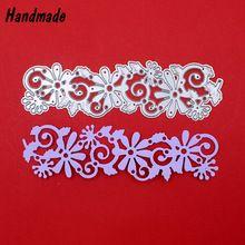 Flower Lace Metal Steel Die Cutting Dies DIY Scrapbooking Stencil Photo Album Decorative Embossing Flolder Paper Cards(China (Mainland))