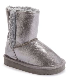 Love this Chatz by Chatties Silver Shine Boot by Chatz by Chatties on #zulily! #zulilyfinds