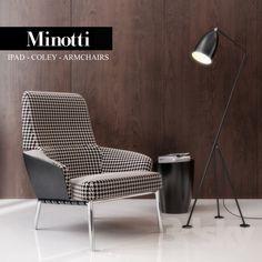 Minotti Ipad - COLEY - ARMCHAIRS