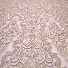 Tecido tule bordado rose smoke - Maximus Tecidos | Loja Online