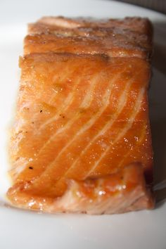 Maple Grilled Salmon- simple marinade and then grill the foil packet on the grill
