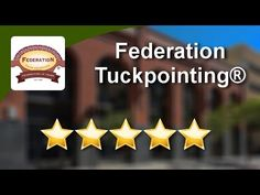 Federation Tuckpointing®  (08) 9242 2952 Wonderful Five Star Review by B... Brick Repair, Rising Damp, Load Bearing Wall, Blog Categories, Five Star, Bay Window, Projects To Try, Stars, Youtube