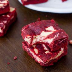Red Velvet Brownies by sallysbakeblog