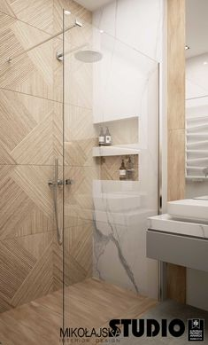 Modern and warm apartment in Katowice Poland - Dezign Ark (Beta) Washroom Design, Toilet Design, Bathroom Design Luxury, Modern Bathroom Design, Warm Bathroom, Small Bathroom, Bathroom Inspiration, House, Home Decor