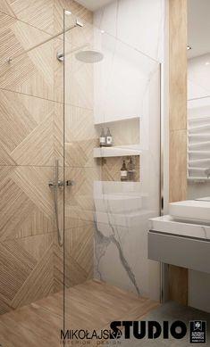 Modern and warm apartment in Katowice Poland - Dezign Ark (Beta) Modern Luxury Bathroom, Bathroom Design Luxury, Modern Bathroom Design, Washroom Design, Toilet Design, Warm Bathroom, Small Bathroom, Bathroom Design Inspiration, Home Room Design
