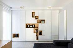 Living Room Cabinets, Living Room Storage, New Living Room, Home And Living, Living Room Furniture, Living Room Decor, Office Interior Design, Office Interiors, Custom Furniture