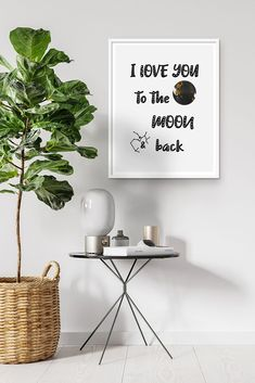 Items similar to I love you to the moon and back wall art printable - Cute poster moon nursery quote sign - Artwork moon bedroom minimalist nursery on Etsy Minimalist Nursery, Moon Nursery, Nursery Quotes, I Love You, My Love, Cute Poster, Etsy Business, Baby Shower Printables, Sign Quotes