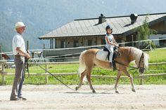 Reitunterricht, Sporthotel Achensee, Tirol, Familienurlaub mit Pferden