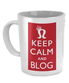 Keep Calm and Blog Mug keepcalmblogmug