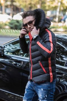 Geaca 2 fete Corai Winter Jackets, Fashion, Winter Coats, Moda, Winter Vest Outfits, Fashion Styles, Fashion Illustrations