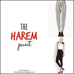 Another key piece in #fashion that you must have in your #spring #wardrobe are #harempants  Come see how to #style them up and #style them down!