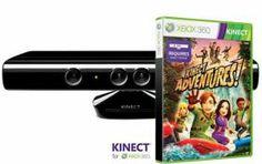 Sensor Kinect + Kinect Adventures PL + Zasilacz (X360) | W sklepie Playstacja.pl Phone, Telephone, Mobile Phones