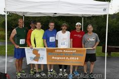 My Team- The Sons of Beaches (or SOBs as we were affectionately called) prior to the start of the 92 mile relay race last weekend.  Finished very respectfully in 55th place with an average pace for 92 miles around 7:50