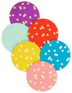 confetti-kate-spade-polka-dot-coasters