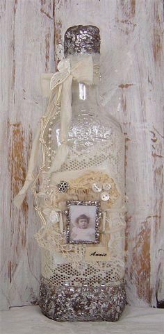 Decorative Bottles :     CLUB DE LAS AMIGAS DE LAS MANUALIDADES    -Read More –