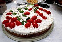 Αυτό το αλμυρό τσιζκείκ είναι χάρμα οφθαλμών και γεύσης Appetizer Recipes, Appetizers, Cheesecake, Greek Desserts, Finger Foods, Recipies, Food And Drink, Snacks, Cooking