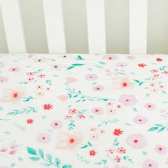 Percale Crib Sheet i