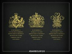 1987 - The Third Royal Warrant ! In addition to those received in 1974 and 1982 from H.H The Duke of Edinburgh and Her Majesty The Queen, Barbour received the third Royal Warrant for 'Waterproof and Protective Clothing' by H.H Prince Charles. Barbour Clothing, Noir Color, Keep Calm Carry On, Her Majesty The Queen, Prep Style, Save The Queen, Prince Of Wales, Prince Charles, Queen Elizabeth Ii