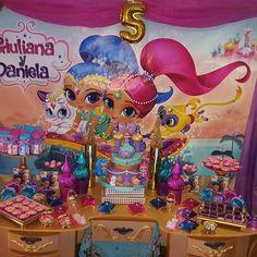 Candy bar de lujo   Celebrando el cumple  #5 de las Bellas Princesa de Shimmer and Shine Giuliana y Daniela  #LiliGlobos #TodoConGlobos #ProductoVenezolano #Caracas #ArteConGlobos #GlobosDecoracion #Globos #DiloConUnGlobo #DecoracionConGlobos  #EventosVenezuela #Cumpleaños  #vintageparty #party #FiestasInfantiles #AmoLoQueHago #DetallesEnGlobos  #EventosVip #Festejo #MesaDeDulces #CandyBar #FiestasTemáticas #FiestasInfantiles #AgenciaDeFestejos #shimmerandshine #shimmerand