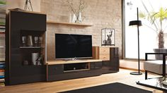 Now! by Hülsta living room combination Snug Room, Tv Unit, Living Room Furniture, Wood Projects, Sweet Home, Dining Room, Cool Stuff, Storage, Interior