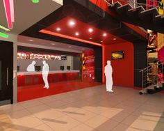 KFC Restaurant Interior Design  Click this link to view more details - http://Interiors.ApnaGhar.co.in/