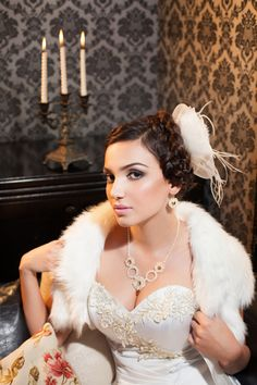 wedding necklace with earrings