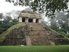 Civilizacion De Las Mayas...La Ciudad Antigua De Palenque, Chiapas