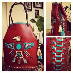 Thunderbird bucketbag - handmade Creative, Handmade, Fashion, Moda, Hand Made, Fashion Styles, Fashion Illustrations, Handarbeit