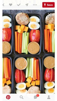 Copycat Starbucks Protein Bistro Box – Now you can easily make your own snack boxes! Healthy, nutritious and prepped for lunch or post-workout snacks! Informations About Copycat Starbucks Protein Bistro … Lunch Snacks, Lunch Recipes, Healthy Recipes, Diet Snacks, Breakfast Recipes, Keto Recipes, Meal Prep Breakfast, Healthy Breakfast On The Go, Dinner Recipes