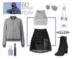 """""""drake's babe"""" by supabebek ❤ liked on Polyvore featuring Timberland, Drakes London, Ice, Toga, Mark Broumand, Elizabeth and James, La Preciosa, Essie, Laura Mercier and Ross-Simons"""