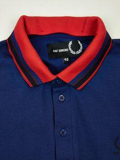 Raf Simons x Fred Perry Men's Detachable Tipped Collar Polo Shirt | oki-ni