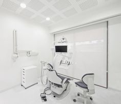 Interior design of a Dental Clinic in Lisbon by Pedra Silva Architects