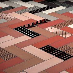 23 meilleures images du tableau carrelage la pose en chevron herringbone tile flats et. Black Bedroom Furniture Sets. Home Design Ideas