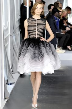Spring 2012 Couture  Christian Dior - Runway