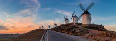 La Mancha. The land of Don Quixote - Consuegra, La Mancha, Spain.