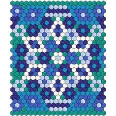 Hexagon Quilt 4