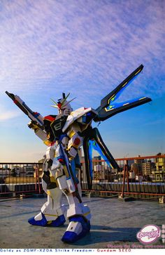 GUNDAM GUY: Gundam Cosplay: Strike Freedom Gundam