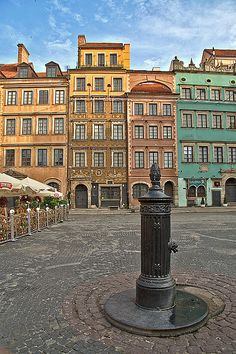 Warsaw, Poland. This is apparently where my ancestors came from. Would love to visit one day.