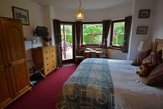 Great Glen B&B in Scotland is a beautiful 3-bedroom Farm House, located near the shores of Loch Ness. It offers fun and relaxation for couples and families of all ages! We stayed in the Urquhart Suite (pictured). #GreatGlen #Farmhouse #LochNess #Scotland #BedandBreakfast #FamilyFriendly #ScottishHighlands